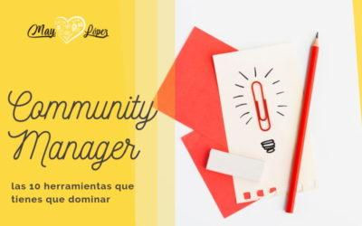 10 herramientas básicas para todo Community Manager + [cupón DESCUENTO Metricool]
